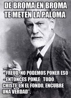 Freud Frases, Mexico Funny, Funny Jokes, Hilarious, Humor Mexicano, Psychology Facts, Comedy Central, My Mood, Man Humor