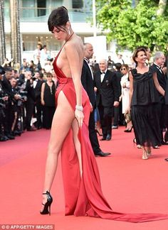 Models command Opening Gala of the 70th Annual Cannes Film Festival #dailymail