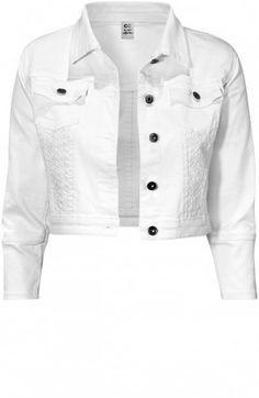Cameron Jacket White