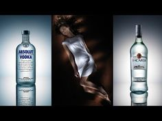 Broncolor Lighting (How To Part 2) Flash Painting & Bottle Photography by Karl Taylor. - YouTube
