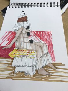 Judy Csiky to  the Drawing Circus in Brighton ! #art #brighton