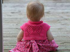 Papillon Bolero Knitting Pattern