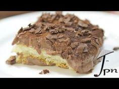 Receita de Pavê de Chocolate com Biscoito Maizena - Toda Perfeita