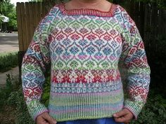 Ravelry: Project Gallery for Fair Isle Cardigan pattern by Mary Scott Huff