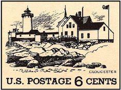 Gloucester postal stamp