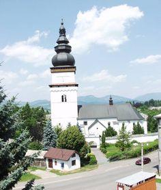 Slovakia, Partizánska Ľupča - Church of Saint Matthew the Apostle