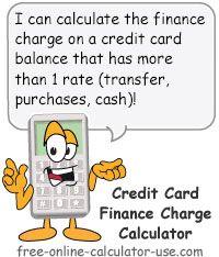interest calculator credit cards
