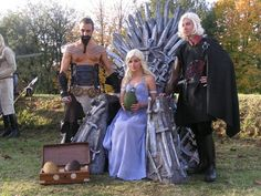 Game of Thrones cosplay.