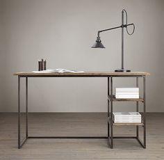 Decor Look Alikes | Restoration Hardware Fulton Desk $695 vs $629 @Home Decorators Collection                                                                                                                                                                                 Más
