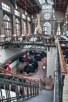 Het Pomphuis, Antwerp, Belgium