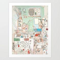 I Understand Art Print by Nayoun Kim - $18.00