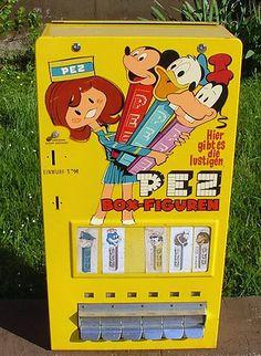 pez automat aus den 50ern.