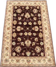 Chocolate/Maroon Ziegler Carpet/Rug No. 4975  http://www.alrug.com/4975