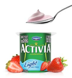Activia® Light Strawberry Probiotic Yogurt