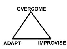 Adapt. Overcome. Improvise. LIVE FEARLESS. My story here! http://howdoigetripped.com/power-to-adapt-and-overcome/