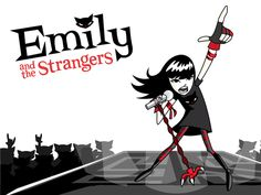 Creator of 'Emily The Strange' Raising Funds to Release Animated Music Single