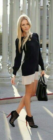 Un vestido casual
