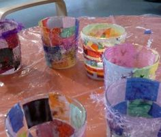 Lemon Sky Glass Collage Workshop New York, NY #Kids #Events