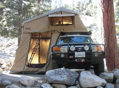 Our new rooftop tent by Cascadia Vehicle Tents, Bend, OR