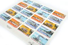 Riverboats Postage Stamps - 32 cents - Vintage 1996 - Unused - Quantity of 20