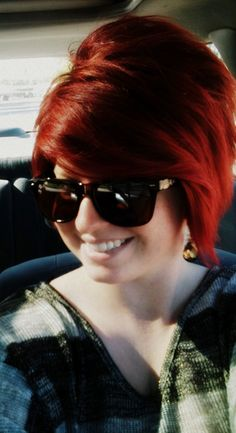my red hair, don't care :)