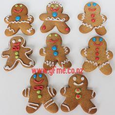 Gingerbread Men | Gluten Free Made Easy