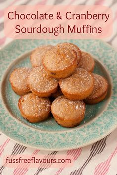 Recipe: Cranberry & Chocolate Sourdough Muffins