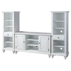 3 Piece Bermuda Entertainment Center Set