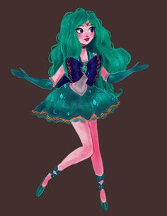 Sailor Neptune by snownymphs on DeviantArt Sailor Moon Villains, Sailor Uranus, Sailor Moon Art, Sailor Moon Crystal, Sailor Neptune Cosplay, Rwby Oc, Sailor Moon Wallpaper, Sailor Moon Character, Sailor Mercury
