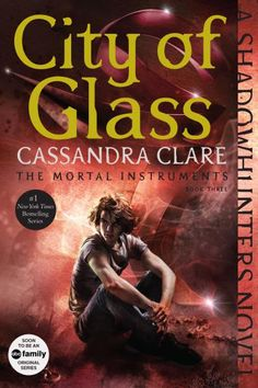 New cover for City of Glass ... the mortal instruments, book, cover, city of glass, simon lewis