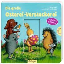 Die große Osterei-Versteckerei. Von Anne-Kristin zur Brügge und Heike Vogel. Ab 18 Monaten.