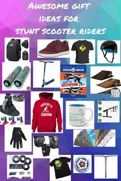Best Gift Ideas for Stunt Scooter Riders – some really fab ideas for kids and teens who love to ride a stunt scooter in this article. Best Scooter For Kids, Kids Scooter, Gifts For Teen Boys, Gifts For Teens, Scooter Helmet, Nitro Circus, Inexpensive Gift, New Tricks, Stunts