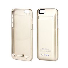 Muze-Gold Iphone 6 4.7 Inch External Charger Case, 3500mAh External Battery Pack External Portable Backup Rechargeable Battery Charger Case with Built-in VideoStand Gift Box (for iphone 6/Gold/1pcs) Kujian http://www.amazon.co.uk/dp/B00PUAPCJO/ref=cm_sw_r_pi_dp_EnKFvb12Q8P04