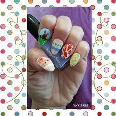 Gisele's Nails: Easter Nails !