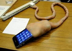 Disgusting Umbilical Cord iPhone Charger