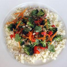 "Paleo Perfect: Cauliflower & ""Rice"" Stir-Fry"