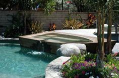 The Green Scene's Award Winning Swimming Pools and Spas Garden Swimming Pool, Swimming Pool Landscaping, Swimming Pools, House Pools, Pool Houses, Outdoor Spaces, Outdoor Decor, Los Angeles Area, Resort Style
