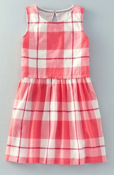 Johnnie B by Boden Sleeveless Check Dress (Big Girls) available at #Nordstrom