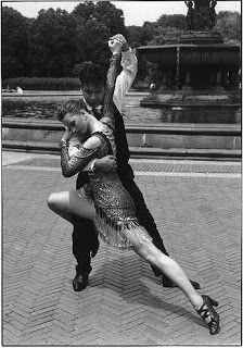 Tango Beginner 7:30-8:30pm and Tango Intermediate 8:30-9:30pm with Jon Tariq at The Ball NY! #tango #dance #classes #nyc