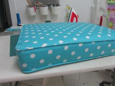 cushion covering tutorial