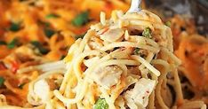Creamy spaghetti loaded with chopped leftover turkey and slathered with cheese, Turketti {aka: Leftover Turkey Spaghetti Casserole} debuted to rave reviews with our kiddos. It's an easy, tasty way to enjoy those turkey leftovers. Not to mention, it's just got a fun name, don't you think?