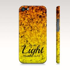 Items similar to Be The Light iPhone 5 6 7 8 Plus X Case Samsung Galaxy Proverbs Ombre Christian Art Sunshine Yellow Orange Abstract Scripture Bible Verse on Etsy Jesus Prayer, Faith Prayer, Samsung Cases, Samsung Galaxy, Iphone 4, Iphone Cases, Diy Crafts To Do, Christian Art, Inspirational Gifts