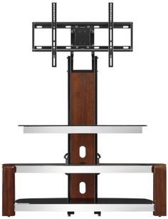 This modern console feels light and open, yet provides all the features needed for proper display of flat panel television. The extended rear spine supports a universal TV mount which swivels left and right 45 degrees to provide optimum television viewing from anywhere in your room. Shelves are... more details available at https://furniture.bestselleroutlets.com/game-recreation-room-furniture/tv-media-furniture/television-stands-entertainment-centers/product-review-for-whalen