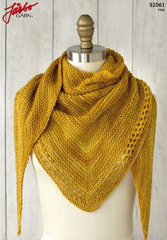 Just a day late… :-) (Photo: Fairmount Fibers Design Team) Ojete by the Fairmount Fibers Design Team is a beautifully simple and sunny summer shawl knit with just one skein of Manos del Urugu… Crochet Scarf Easy, Easy Knitting, Knit Or Crochet, Crochet Shawl, Knitting Patterns Free, Free Pattern, Knit Shawl Patterns, Crochet Patterns, Free Crochet