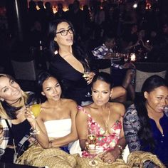 Inside Karrueche Tran's Night Out With Gal-Pals Following Chris Brown's Baby Bombshell