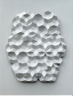 molecular #dailyconceptive #diarioconceptivo Form Design, Material Design, 3d Design, Print Design, 3d Pattern, Surface Pattern, Pattern Design, Origami Wall Art, Donor Wall