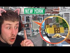 60 Spieler Hide and Seek in NEW YORK! (Wie soll ich hier bitte wen finden Junge?!) - YouTube Minecraft Server, New York, Glitch, Tennis Racket, Xbox One, Youtube, Top, Crafts, You're Welcome