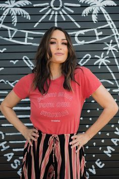 Brie Bella photo shoot for BirdieBee