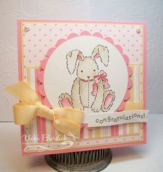 It's a Stamp Thing: Baby Girl Congratulations