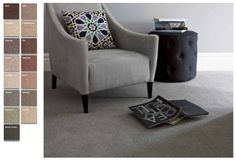 Forest Hills is a practical, hardwearing carpet made from 50% wool, 40% lanelle…